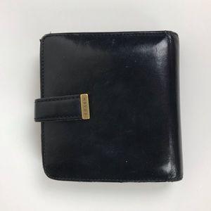 Coach Vintage Leather Tri-Fold Wallet